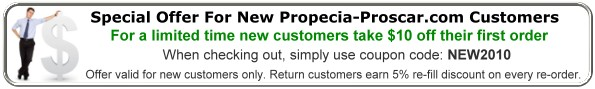 Special Offer for New Propecia-Proscar.com Customers